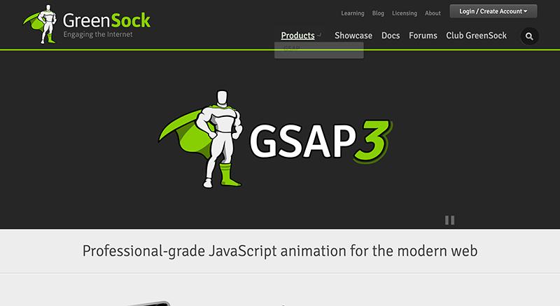 GreenSock GSAP