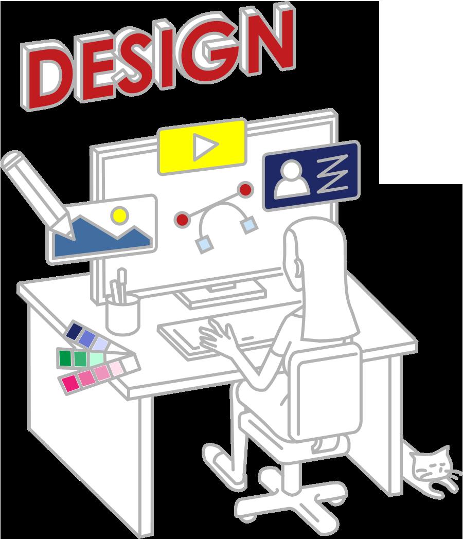 デザインからコーディングまでトータルで代行