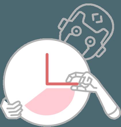 時間の削減